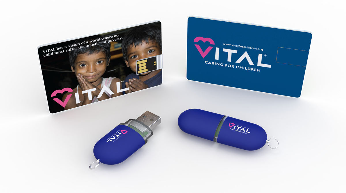 Flashbay doneert aan het Vital For Children Charity