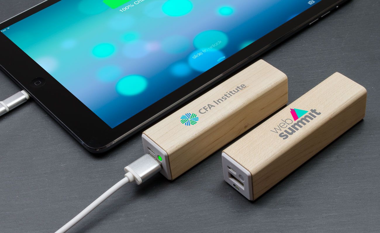 Maple - Powerbank Bedrukken